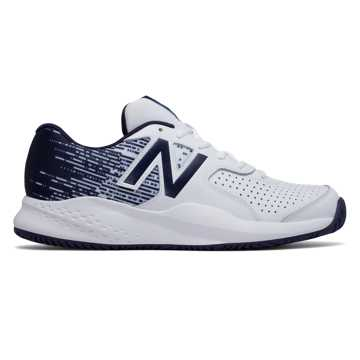 New Balance New Balance 696v3, White with Navy