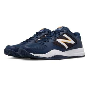 New Balance New Balance 696v2, Navy with White & Impulse