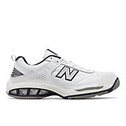 New Balance 806, White with Navy