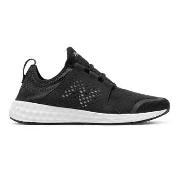 New Balance Fresh Foam Cruz, Black with White
