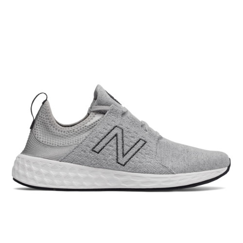 New Balance Fresh Foam Cruz Retro Hoodie Scarpe - Silver Mink