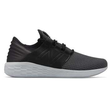 Men's Fresh Foam Cruz v2 Nubuck, Black with Castlerock