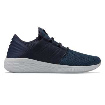 Men's Fresh Foam Cruz v2 Nubuck, Eclipse with Sea