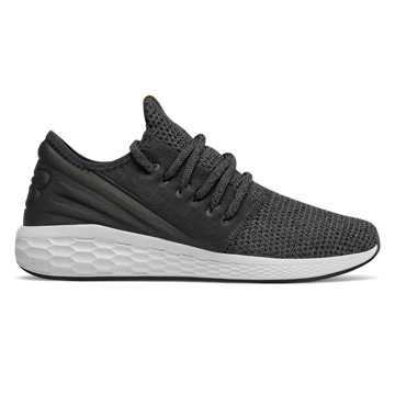 Men's Fresh Foam Cruz Decon, Black with Magnet & Nimbus Cloud