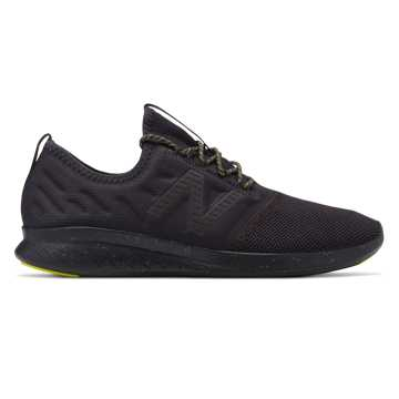 Men's FuelCore Coast v4 , Black with Limeade