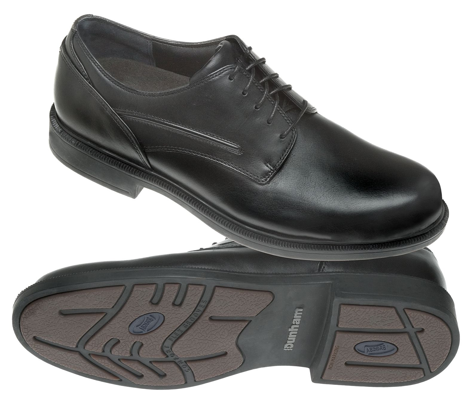 dunham mens burlington waterproof oxford dress shoes black