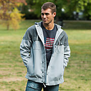 990 Pinnacle Jacket, Athletic Grey with Grey