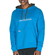 Essential Pullover Hoodie, Kinetic Blue with Insignia Blue