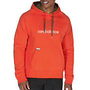 Essential Pullover Hoodie, Spicy Orange