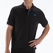 Cotton Pique Polo, Black