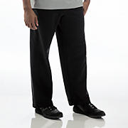 French Terry Fleece Pant, Black