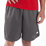 Showdown Mesh Short, Asphalt