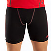 6 inch Base Layer Fitted Short, Black