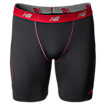 TruBase Perf Short, Black with Red