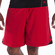 Momentum Training Short, Barbados Cherry with Black