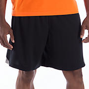 Momentum Training Short, Black with Silver Filigree