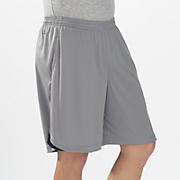 Momentum Training Short, Silver Filigree with Black