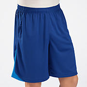Momentum Training Short, Sodalite with Electric Blue