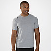 Short Sleeve Tech Tee, Athletic Grey