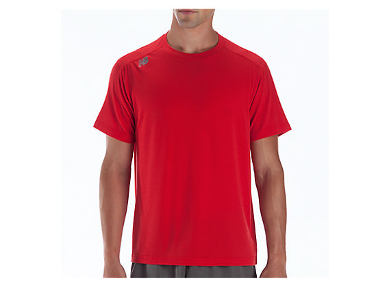 Short Sleeve Tech Tee, Barbados Cherry