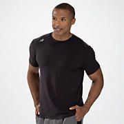 Short Sleeve Tech Tee, Black