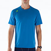Short Sleeve Tech Tee, Electric Blue