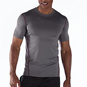 Short Sleeve Base Layer, Asphalt