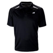 Performance Polo, Black with Silver Filigree