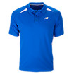 Performance Polo, Electric Blue with White