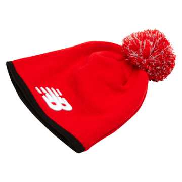 New Balance LFC Fleece Beanie, High Risk Red