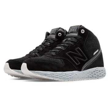 New Balance 988 Fresh Foam Mid-Cut, Black with Grey