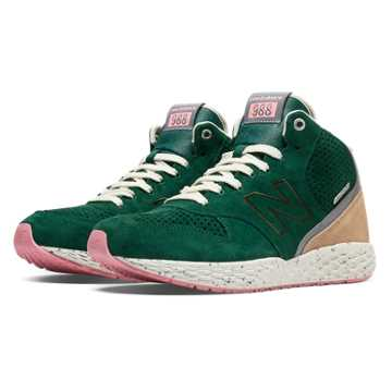 New Balance 988 Fresh Foam Mid-Cut, Forest Green with Tan