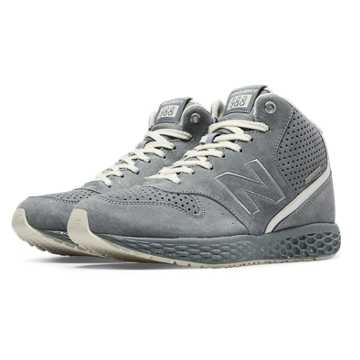 New Balance 988 Fresh Foam Mid-Cut, Grey with White