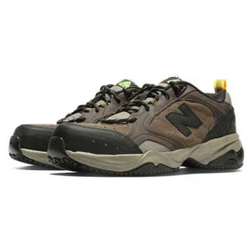 New Balance Steel Toe 627 Suede, Brown
