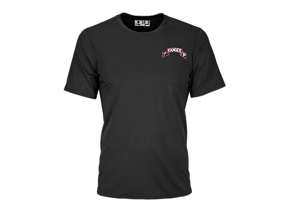 1st Ranger Battalion T Shirt, Black