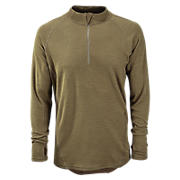 New Balance Merino Wool Base 1/4 Zip, Coyote