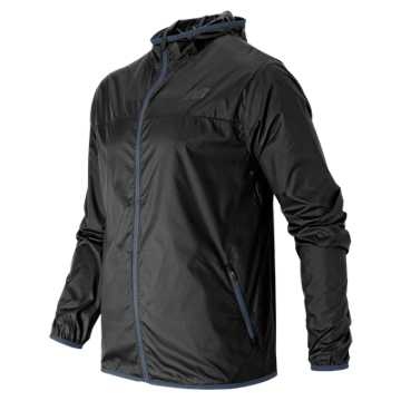 New Balance Windcheater Jacket, Black