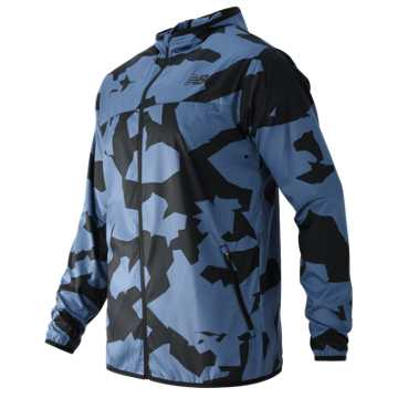 New Balance Windcheater Jacket, Crater Print
