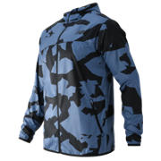 Windcheater Jacket, Crater Print