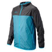 HOCR Windcheater Jacket, Deep Water with Black