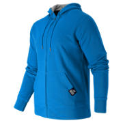 Full Zip Fleece Hoodie, Bolt