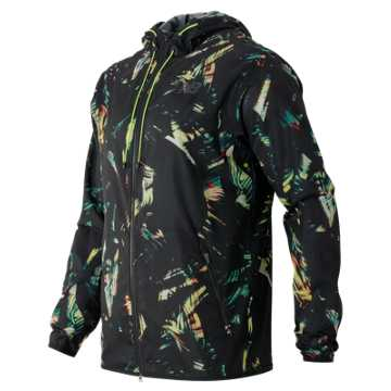 New Balance Windcheater Hybrid Jacket, Palm Print