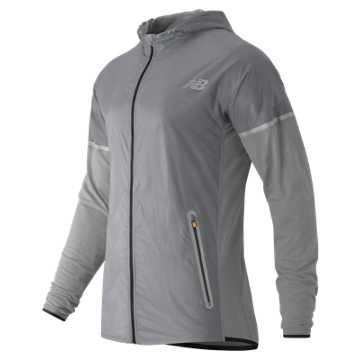 New Balance Performance Merino Hybrid Jacket, Athletic Grey