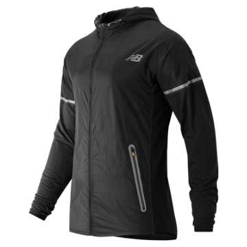 New Balance Performance Merino Hybrid Jacket, Black