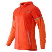 Performance Merino Hybrid Jacket, Lava with Fireball