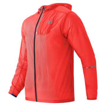 New Balance Lite Packable Jacket, Alpha Orange