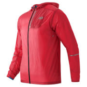 NB Lite Packable Jacket, Bright Cherry