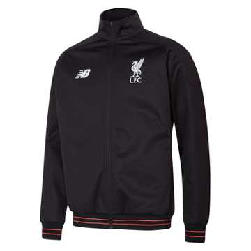 New Balance LFC Mens Elite Training Walk Out Jacket, Black