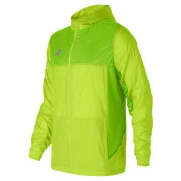 New Balance Tech Training Rain Jacket, Toxic