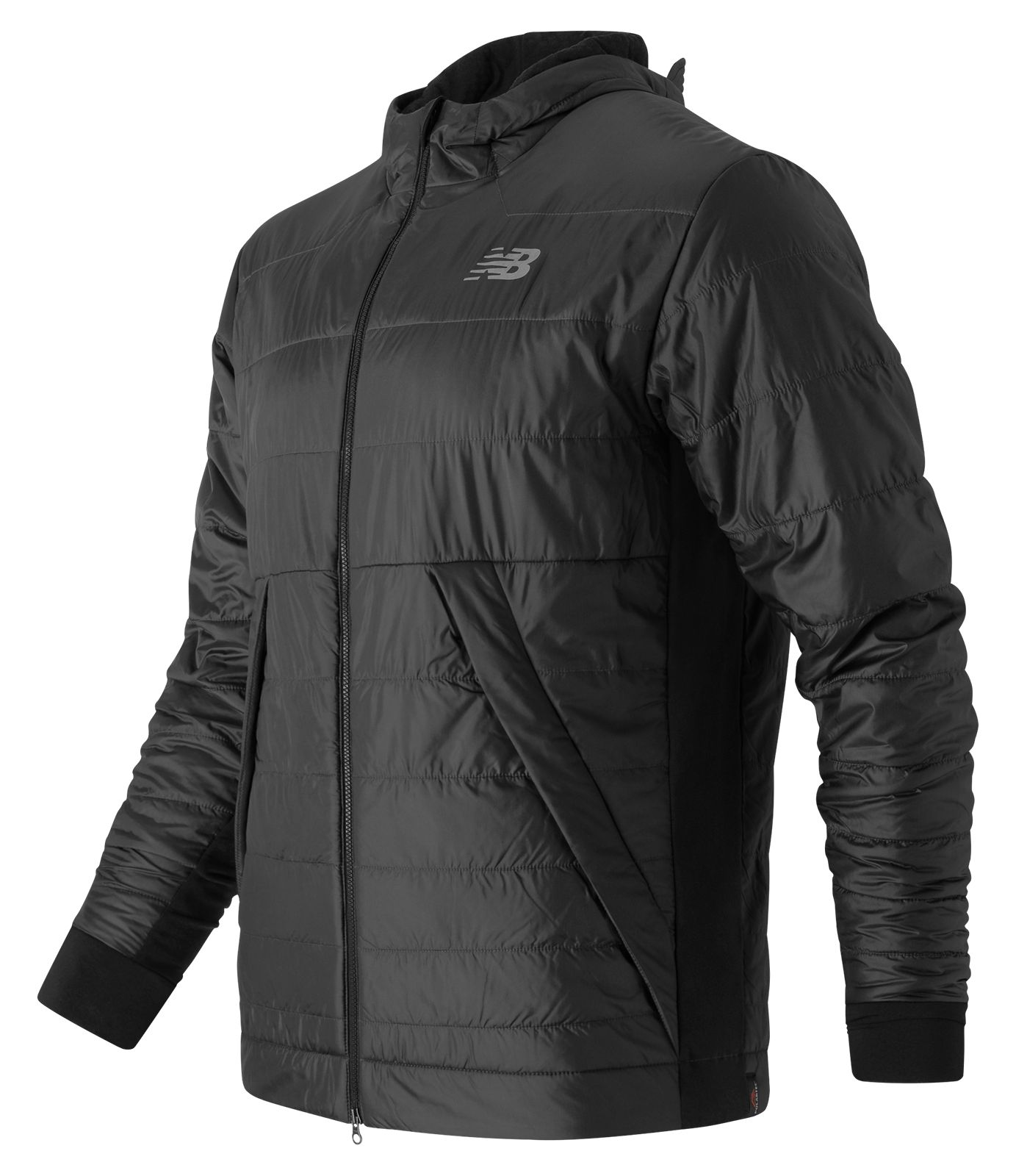 New Balance : NB Heat Hybrid Jacket : Men's Performance : MJ63002BK